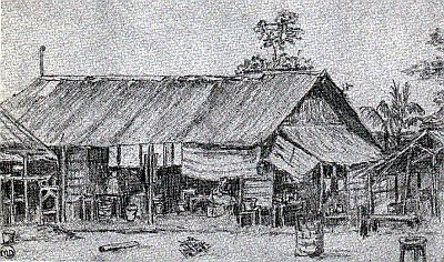 Barracks Camp - Palembang - Margaret Dryburgh