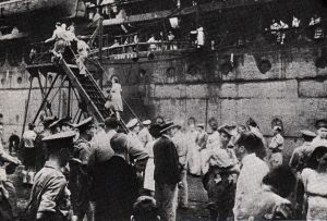 The evacuation of Singapore (Imperial War Museum)